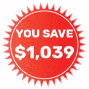 You Save $1,039